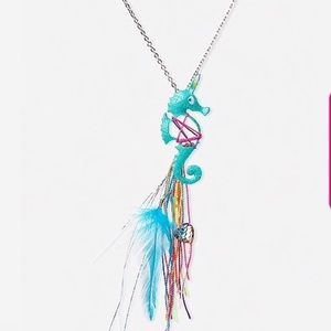 New Girls Justice Seahorse Unicorn Necklace